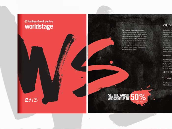 World Stage 2013 branding and collatoral